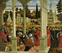 Debate of St. Stephen von Vittore Carpaccio