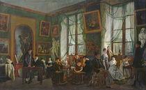 The Studio of Madame Haudebourt-Lescot von Joseph Albrier