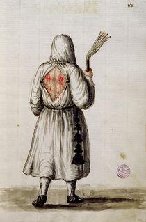 A Flagellant von Jan van Grevenbroeck