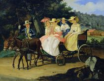 A Run, 1845-46 by Aleksandr Pavlovich Bryullov