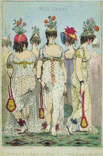 Parisian Ladies in Winter Dresses for 1800 von James Gillray