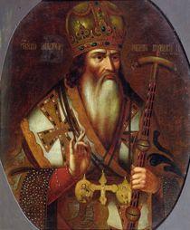 Portrait of Joachim, Patriarch of Moscow von Russian School