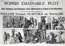 The Popish Damnable Plot Against Our Religion and Liberties von English School