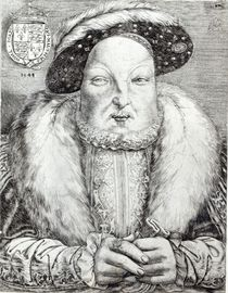 Portrait of Henry VIII, 1548 von Cornelis Massys