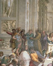 School of Athens, from the Stanza della Segnatura von Raphael