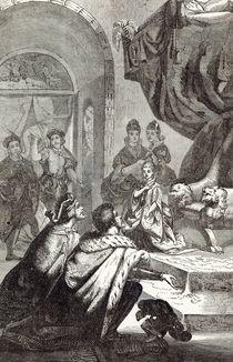 Betrothal of the French Princess to Richard II von English School