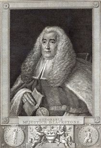 Honourable Mr Justice Blackstone by Thomas Gainsborough