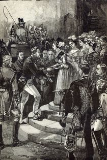 Reception of Louis Philippe at Windsor Castle by English School