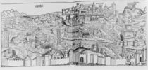 View of Rome, 1493 von German School