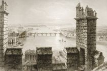 The River Shannon and Limerick from the Cathedral Tower by William Henry Bartlett