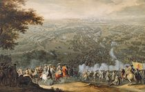 The Battle of Poltava, engraved by one of the Nicolas Larmessin family by Pierre-Denis Martin