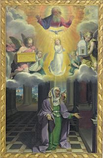 St. Anne and the Immaculate Conception by Bartolomeo Cesi