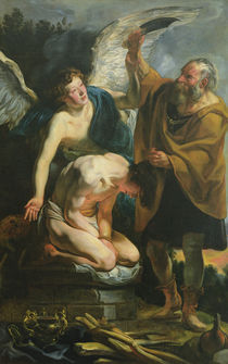 The Sacrifice of Isaac by Jacob Jordaens