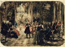 Sketch for The Flute Concert von Adolph Friedrich Erdmann von Menzel