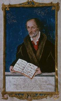 Portrait of Philipp Melanchthon by Lucas the Younger Cranach