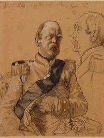 Prince Otto von Bismarck, 1865 by Adolph Friedrich Erdmann von Menzel