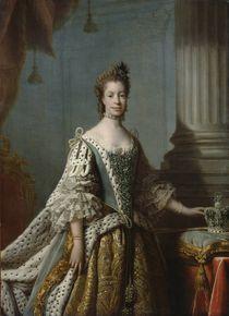 Charlotte Sophia of Mecklenburg-Strelitz by Allan Ramsay
