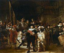The Nightwatch by Rembrandt Harmenszoon van Rijn