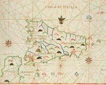 Sicily and the Straits of Messina von Italian School