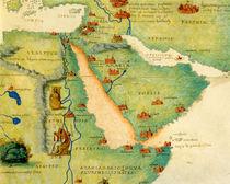Ethiopia, the Red Sea and Saudi Arabia von Battista Agnese
