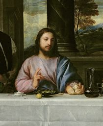 The Supper at Emmaus, c.1535 by Titian