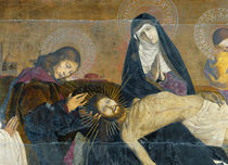 The Avignon Pieta, 1450-60 by Enguerrand Quarton