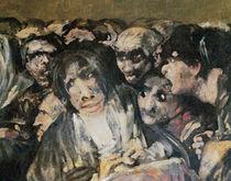 Pilgrimage to San Isidro, 1821 by Francisco Jose de Goya y Lucientes