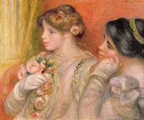 Dans La Loge, c.1908 von Pierre-Auguste Renoir