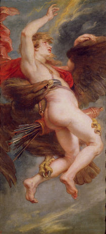 The Rape of Ganymede, c.1636-38 by Peter Paul Rubens