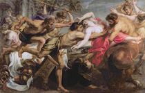 Lapiths and Centaurs von Peter Paul Rubens