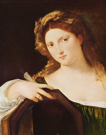 Detail of Allegory of Vanity by Titian