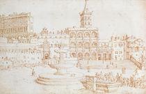 Old St. Peter's by Maerten van Heemskerck