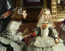 Las Meninas or The Family of Philip IV von Diego Rodriguez de Silva y Velazquez