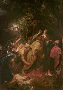 The Seizure of Christ by Anthony van Dyck
