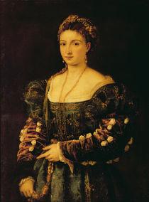 Portrait of a Woman, called La Bella by Titian