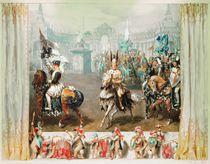 Knight tournament, 1854 von Adolph Friedrich Erdmann von Menzel