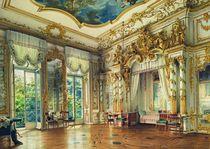 Bedroom of Tsar Alexander I in the Alexander Palace von Luigi Premazzi