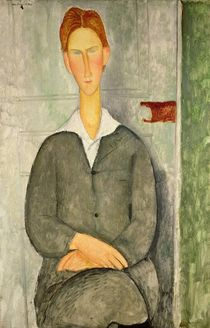 Young boy with red hair, 1906 von Amedeo Modigliani