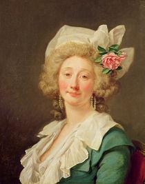 Portrait of a lady, 1782 von Jean Francois Colson