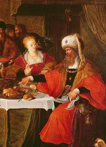 Herod and Herodias at the Feast of Herod by Frans the Elder Francken