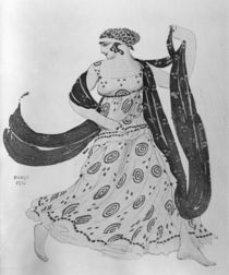 Costume design for 'Cleopatra' by Leon Bakst