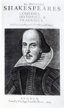 Titlepage of 'Mr. William Shakespeares Comedies by English School