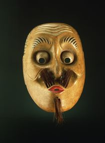 Comical Mask, Noh Theatre von Japanese School