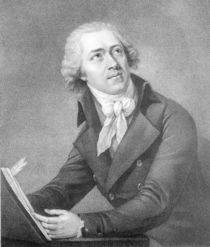 Leopold Kozeluch, engraved by William Ridley by English School