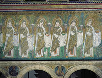 Group of Virgin Martyrs by Byzantine School