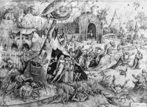 Luxury, 1557 von Pieter the Elder Bruegel