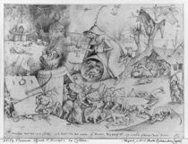 Anger, 1557 by Pieter the Elder Bruegel
