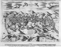 View of Jerusalem, 1570 ? by Etienne Duperac
