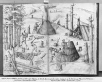 Silver mine of La Croix-aux-Mines von Heinrich Gross or Groff