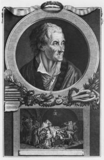 Voltaire and the Calas affair by French School